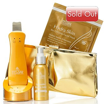 304-889 - TEI Spa® Limited Edition Sonic Spatula™ Four-Piece Flawless Skin Tool & Essentials