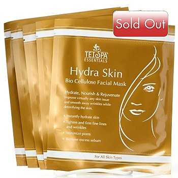 304-890 - TEI Spa® Essentials Set of Five Hydra Skin Facial Masks