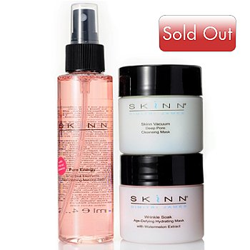 305-084 - Skinn Cosmetics Three-Piece ''Moisture Rush'' Facial Set