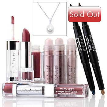 305-087 - Skinn Cosmetics Seven-Piece ''Color Me Pretty'' Collection