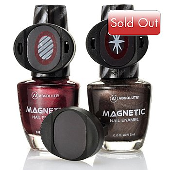 305-103 - ABSOLUTE! Steel Rose Magnetic Nail Duo