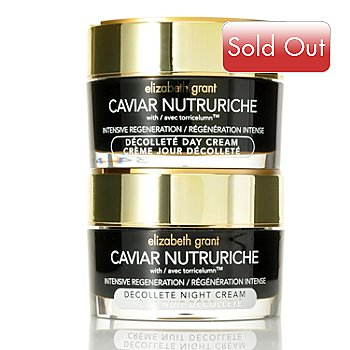 305-221 - Elizabeth Grant Caviar Nutruriche Decollete Day & Night Cream Duo