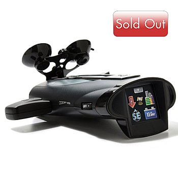 400-708 - Cobra® 15-Band™ S-XRS Maximum Performance Radar/Laser Detector
