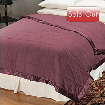 401-367 - Cozelle™ Microfiber Oversized Down Alternative Blanket