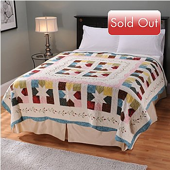 401-747 - North Shore[ ''Star Patch'' Limited Edition Embroidered Full/Queen Quilt