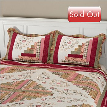 401-792 - North Shore™ Collectible Quilts ''Millbrook'' Quilted Sham Pair