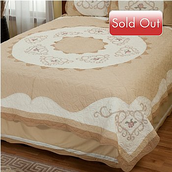 402-019 - North Shore™ Collectible Quilts ''Heather Rose'' Limited Edition Quilt - Full / Queen Size