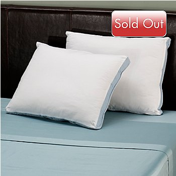 402-073 - North Shore Linens™ Ultra-Fresh® Down Alternative Pillow Pair