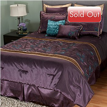 402-104 - North Shore Linens™ ''Iridescence'' Eight-Piece Comforter Set