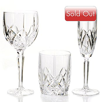 403-427 - Marquis by Waterford® ''Brookside'' 24-Piece Drinkware Set