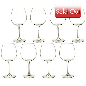 404-587 - Robert Mondavi by Waterford® Crystal 22oz Red Wine Glasses-Set of Eight