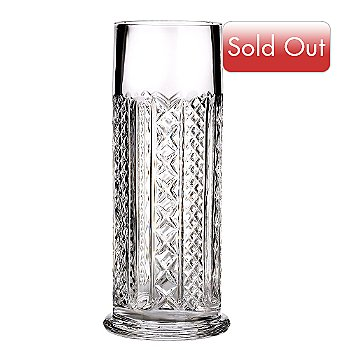 405-213 - Waterford[ Crystal 10'' Fleurology Audrey Cylinder Vase