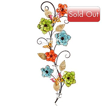 405-972 - Style at Home with Margie 40'' Flowering Butterfly Candle Holder
