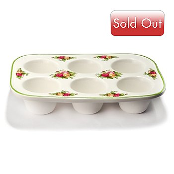 405-978 - Royal Albert® Old Country Rose 11'' Cupcake Pan