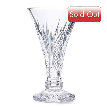 406-266 - Waterford® Crystal 60th Anniversary 10'' Vase - Signed by Jim O'Leary
