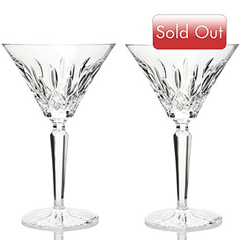 406-318 - Waterford® Crystal Lismore 7'' Cocktail Glass Pair