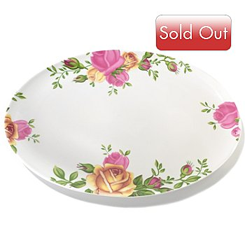 406-331 - Royal Albert® Country Rose Porcelain Serving Platter