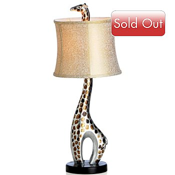 407-089 - Style at Home with Margie 28'' Giraffe Table Lamp