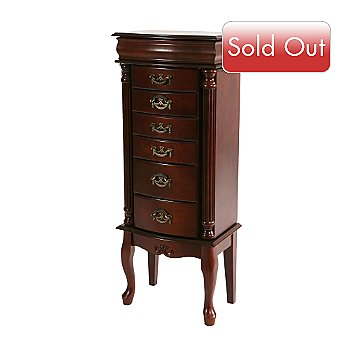 412-676 - Jewelry Armoire Medium Mahogany