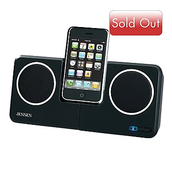 420-138 - Jensen JiSS-120 Universal Docking Station for iPod