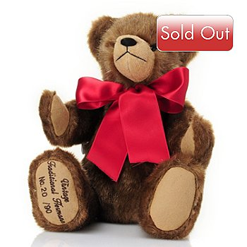 429-176 - Hermann™ 15-1/4'' Vintage Traditional Teddy Bear