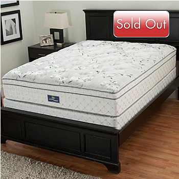 429-368 - Serta® Perfect Sleeper® ''Immaculate'' Eurotop Twin Mattress Set