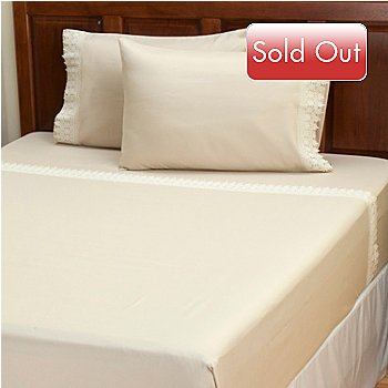 429-537 - Cozelle™ Microfiber ''Sorrento'' Four-Piece Sheet Set