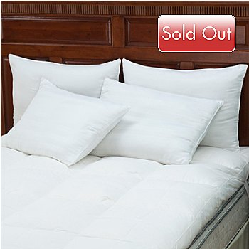 429-775 - North Shore Linens™ 300TC Cotton Dobby Pillows - Set of Four