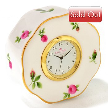 429-801 - Royal Albert® New Country Roses 2-1/2'' White Clock