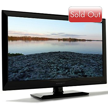 430-128 - Affinity 23.6'' 1080p LED HDTV w/ Built-in DVD Player