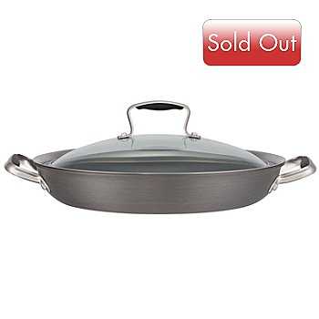 430-136 - Macy's Tools of the Trade® Belgique® 12'' Everyday Pan w/ Lid