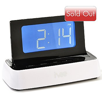 430-327 - ivee Voice Controlled Talking Digital Alarm Clock