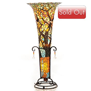 430-462 - Tiffany-Style 45'' River of Life Floorchiere Lamp