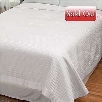 430-670 - 420TC Quilted Supima® Cotton Coverlet