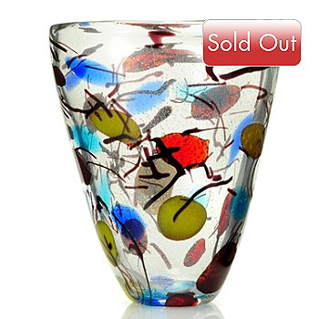 430-691 - Favrile 13'' Hand-Blown Art Glass Vase