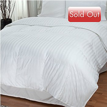 430-891 - North Shore Linens™ 500TC Cotton Damask Down Alternative Comforter