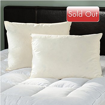 430-911 - North Shore Linens[ 260TC Cotton Feather Pillow Pair