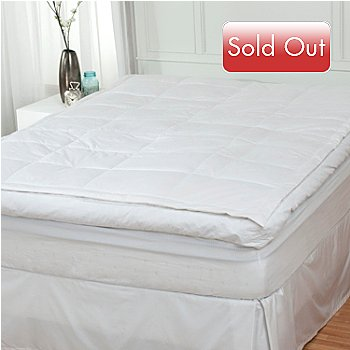 430-991 - North Shore Linens™ 233TC 100% Cotton 5'' Pillowtop Feather Bed