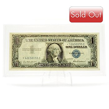 431-000 - 1957 Fine Silver Enhanced Silver Certificate