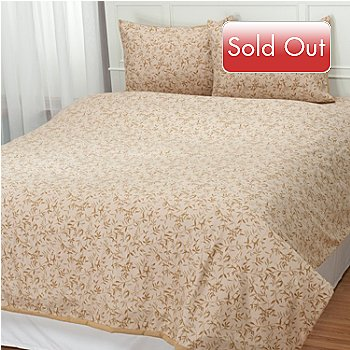 431-001 - Cozelle® ''Ridgewood'' Microfiber Three-Piece Duvet Set