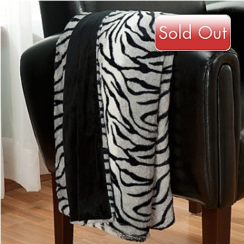 431-074 - Macy's Charter Club® 50'' x 60'' Faux Fur Throw