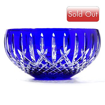 431-082 - Waterford® Crystal Araglin Prestige Cobalt 7'' Bowl