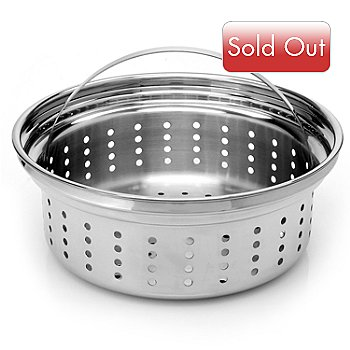 431-103 - Macy's Tools of the Trade® Belgique® 1.5 qt. Stainless Steel Steamer Insert