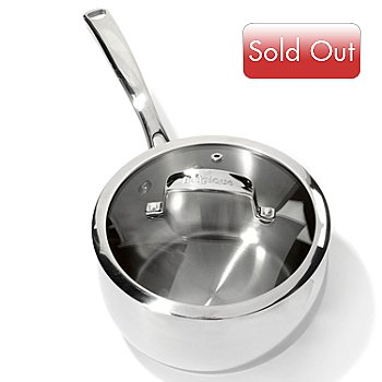 431-146 - Macy's Tools of the Trade® Belgique® Stainless Steel Saucepan w/ Lid