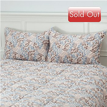 431-218 - Cozelle® ''Meadow'' Microfiber Set of Two Shams