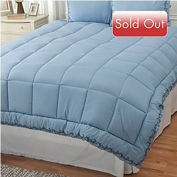 431-219 - Cozelle® Microfiber Embroidered Down Alternative Comforter