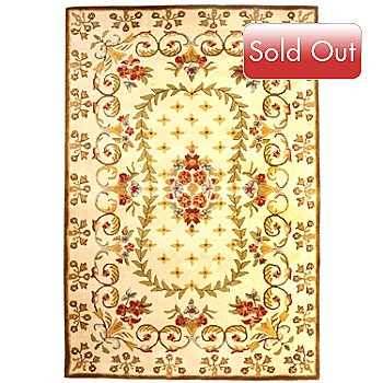 431-261 - Bashian ''Jardin'' 5' x 8' or 8' x 10' Hand Tufted 100% Wool Rug