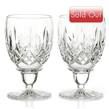 431-323 - Waterford® Crystal 8 oz. Set-of-Two Ennis Goblets