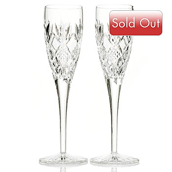 431-327 - Waterford® Crystal Sinead 5.5 fl oz Set of Two Champagne Flutes