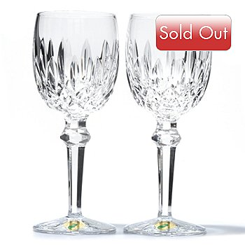 431-329 - Waterford® Crystal Keane Set of Two 5.5 oz Wine Glasses